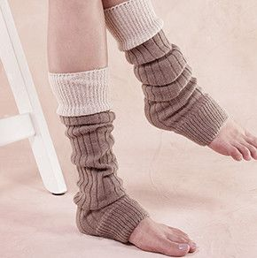These Two Tone Ribbed Leg Warmers will keep you warm while looking great! - Material: 70% Cotton / 25% Acrylic / 5% Spandex- Size: One size fits all- Hand Wash,