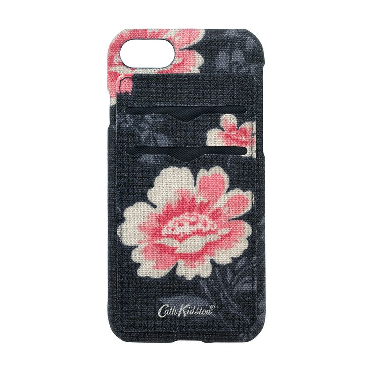 An iPhone 7 case that's as pretty as it is practical and protective. In Henley Bloom print with a matt finish, it has two card slots - perfect for keeping your card close to hand or touching in and out with a travel card.