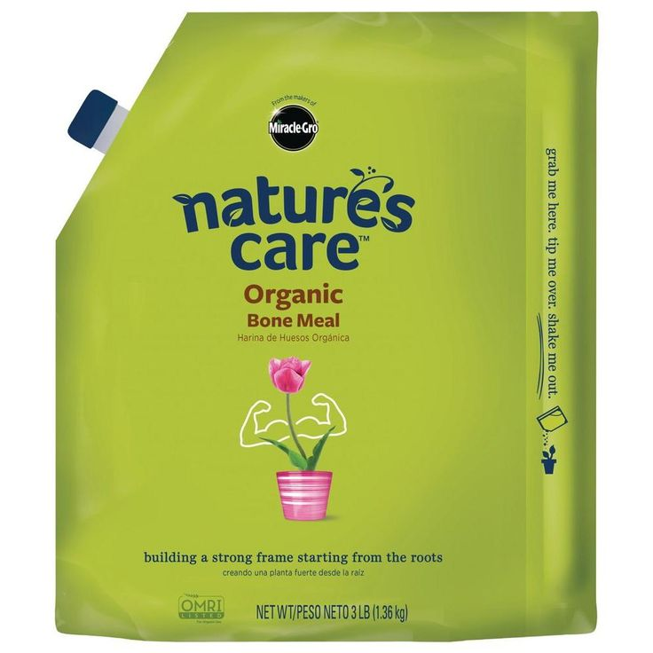Miracle-Gro Nature's Care 3 lb. Organic Bone Meal-100125 - The Home Depot