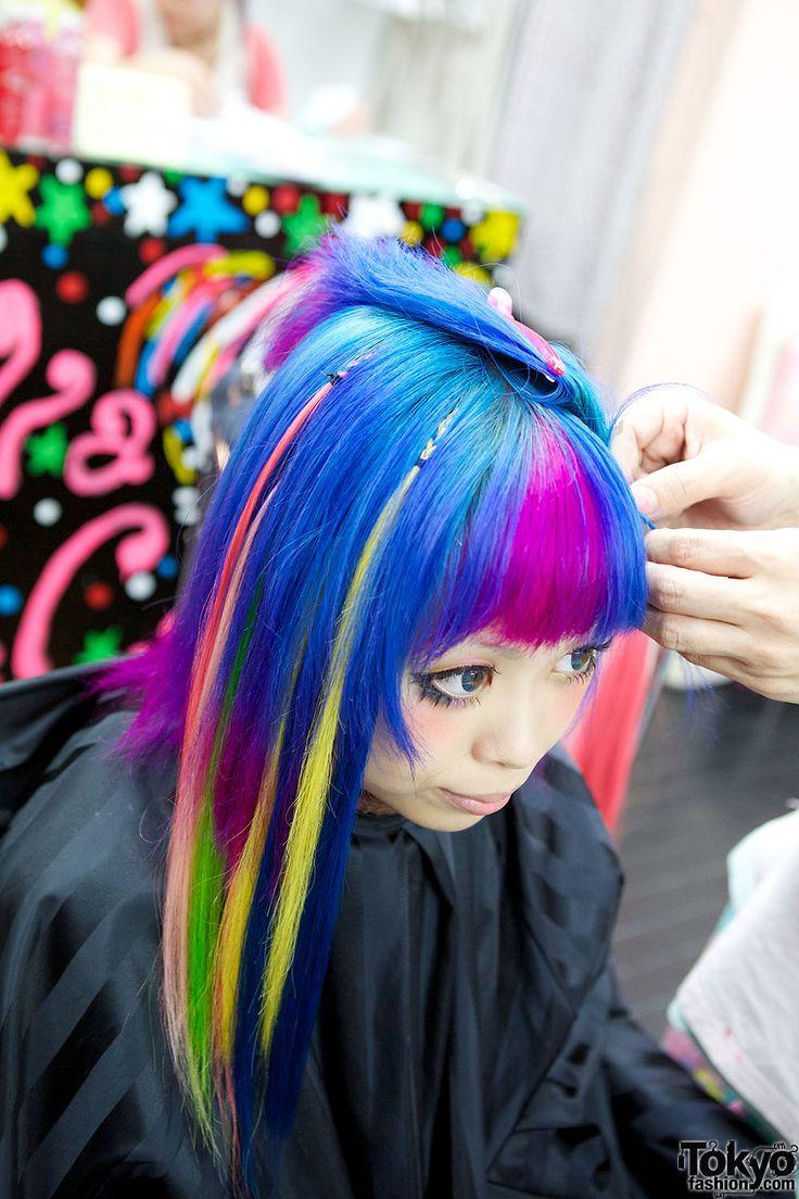 Haruka Kurebayashi In Viva Cute Candy Salon Hair