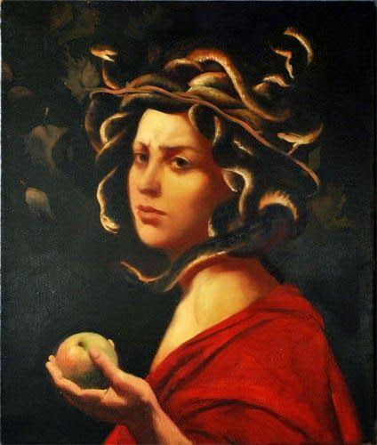 Leonardo Da Vinci Head Medusa