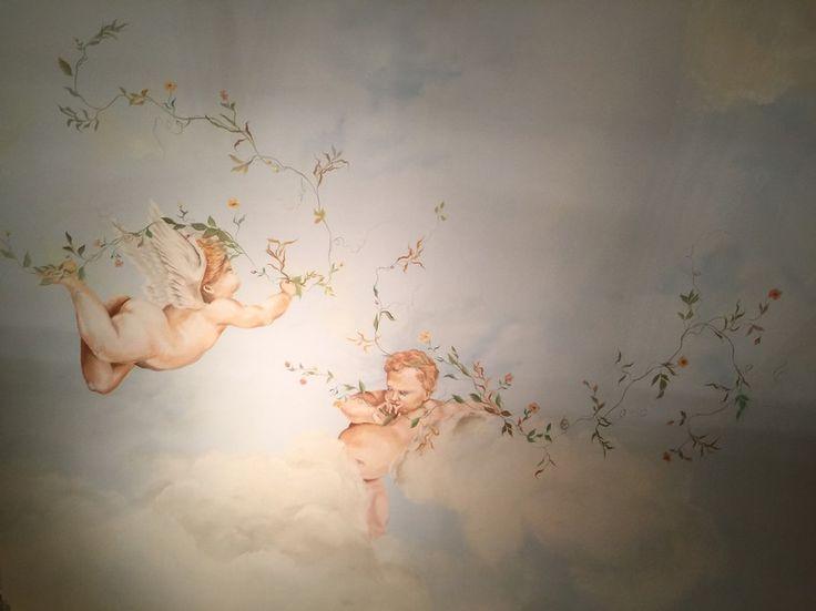 Ceilings - Soffitti - Arte e Bodypainting. Dai dipinti ad olio ai murales, dalla resina artistica alle sculture. Painted ceilings and airbrush - Diego Bormida Artist