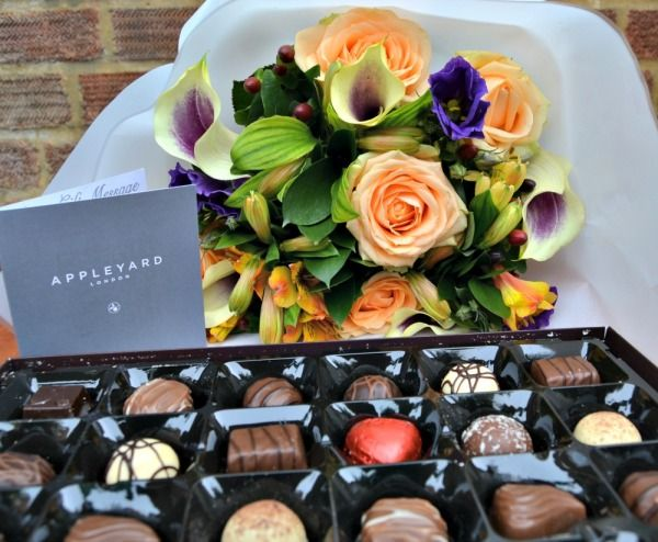 COMPETITION: #Win a Luxury Flower Bouquet and Thorntons Chocolate by Appleyard London | Lilinha Angel's World - UK Parenting Lifestyle Blog