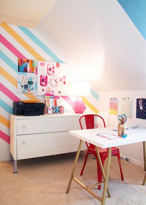 Spray Paint IKEA Table Legs Gold!   Via Etsyu0027s Featured Shop, Pencil  Shavings Studio