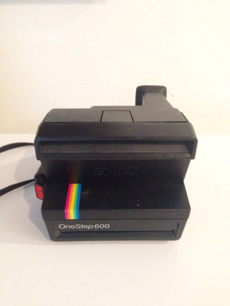 Polaroid One Step 600 Camera |  One Step Instant Photo Camera with Light Management | Instant Camera by KimBuilt on Etsy