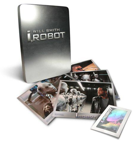 I, Robot: Limited Edition Collector's Tin Exclusive to Amazon.co.uk Import anglais: Amazon.fr: Will Smith, Bridget Moynahan, Bruce Greenwood, Alan Tudyk, James Cromwell, Adrian Ricard, Chi McBride, Jerry Wasserman, Fiona Hogan, Peter Shinkoda, Terry Chen, David Haysom, Alex Proyas, Anthony Romano, James Lassiter, John Davis, John Kilkenny, Akiva Goldsman, Isaac Asimov, Jeff Vintar: DVD & Blu-ray