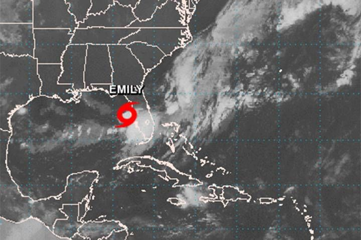 Tropical storm Emily forms in Gulf of Mexico https://tmbw.news/tropical-storm-emily-forms-in-gulf-of-mexico  MIAMI – Tropical Storm Emily has formed in the Gulf of Mexico off the coast of west-central Florida and is expected to move inland across the peninsula.The U.S. National Hurricane Center says the storm's maximum sustained winds increased Monday morning to near 72 kph but it's expected to weaken do a tropical depression as it moves inland.A tropical storm warning is in effect for a…