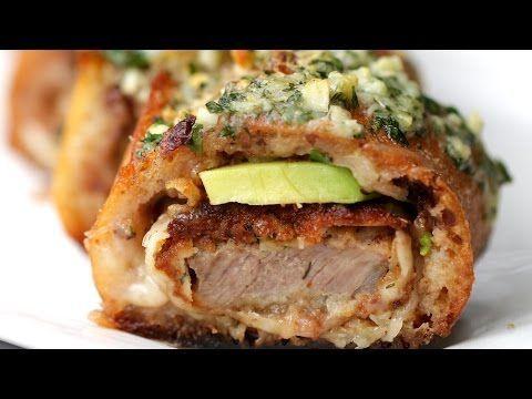 Beef Cutlet-Stuffed Garlic Bread - YouTube