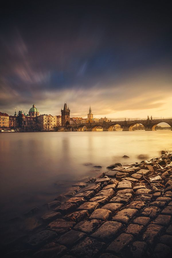 winter sunset in prague... contact for prints: roblfc1892@gmail.com  All images are © copyright roblfc1892 - roberto pavic. You may NOT use, replicate, manipulate, or modify this image.&n...