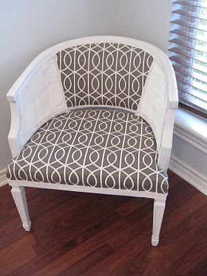 love. this. chair. redo!