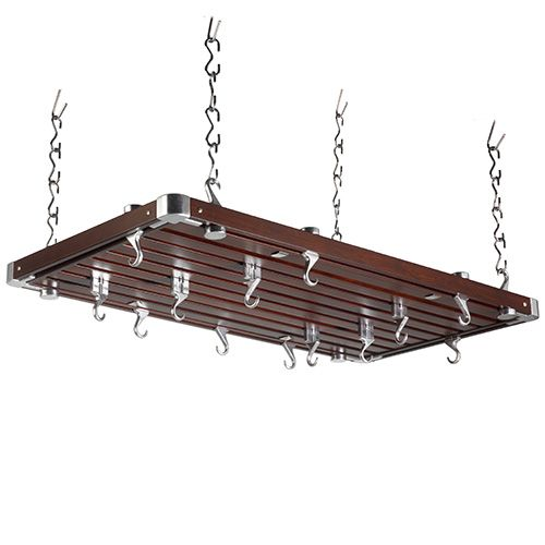 £170.95 Size: 100 x 52 x 4cm  Supplied with: 8 x Swivel Hooks 12 x Fixed Hooks Hanging Links and Fixings