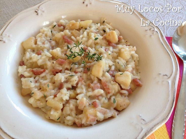 Twittear     El risotto es un plato típico italiano cuyo principal ingrediente es el arroz. Se caracteriza por su textura cr...
