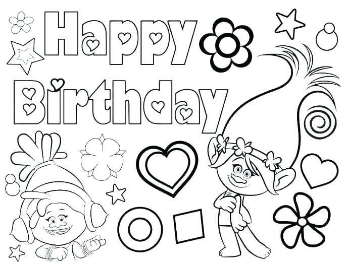 6 Happy Birthday Grandma Coloring Pages Printable Coloring Pages Happy Birthday Grandma Birthday Coloring Pages Happy Birthday Coloring Pages Trolls Birthday