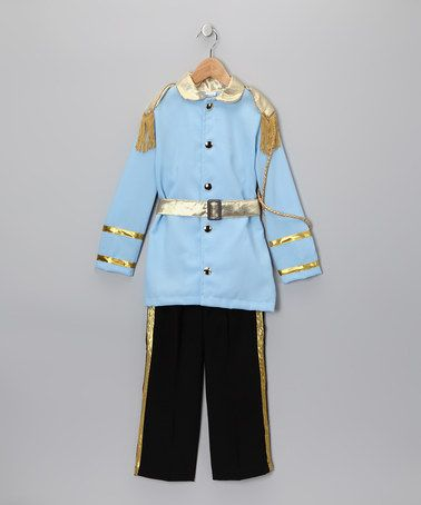 Prince outfit for the handsome boys out there! Blue Prince Jacket & Pants - Toddler & Boys by Bijan Kids on #zulily today!