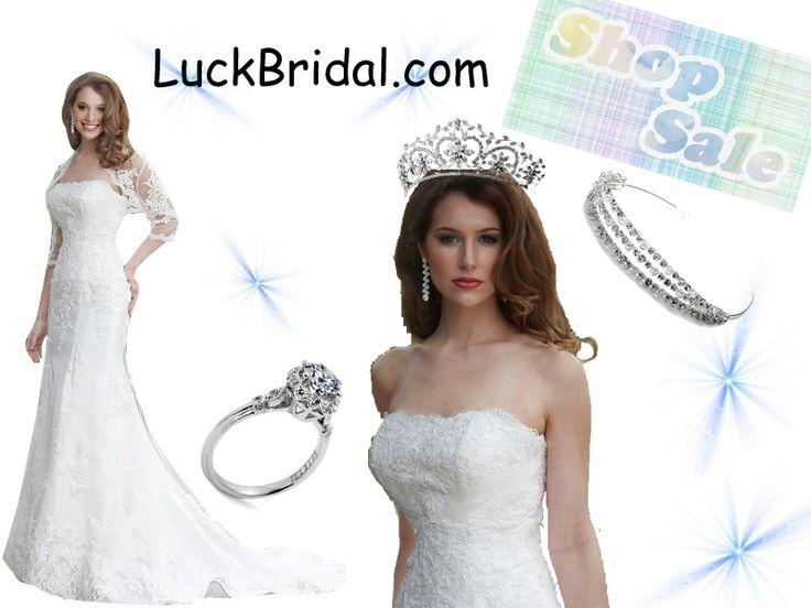 Wedding Dresses & Prom Dresses & Cocktail Dresses & Homecoming Dresses www.luckbridal.com