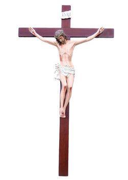 Cristo in croce  altezza Cristo cm. 160 in vetroresina croce di legno cm. 320x180 dipinto con colori acrilici e finiture ad olio  http://www.ovunqueproteggimi.com/collezione-statue/ges%C3%B9/cristo-in-croce/