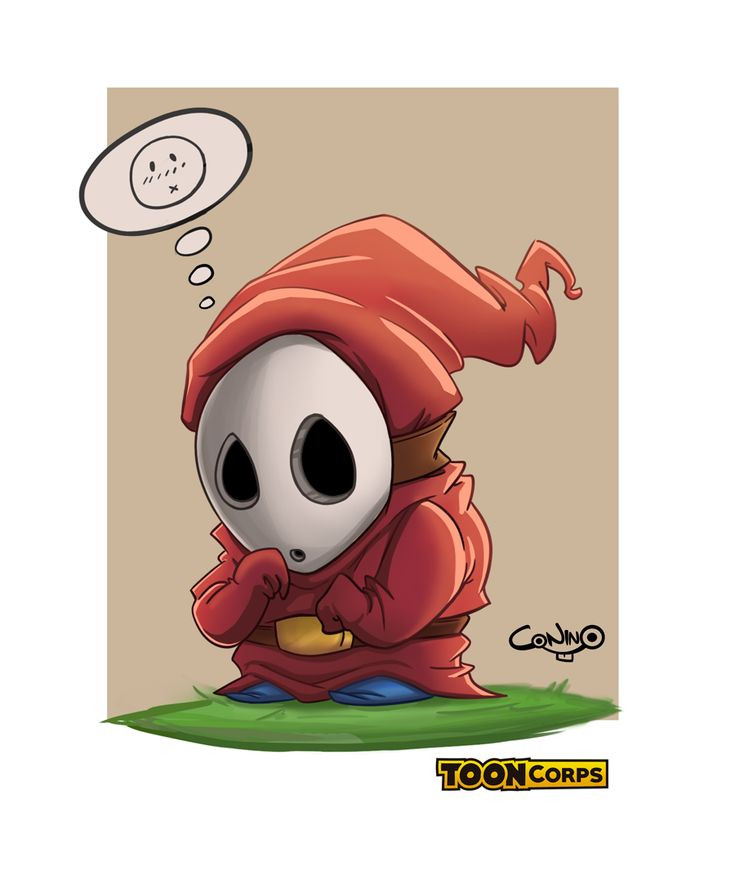 Mario World - Shy Guy by Diego Rodríguez Vera