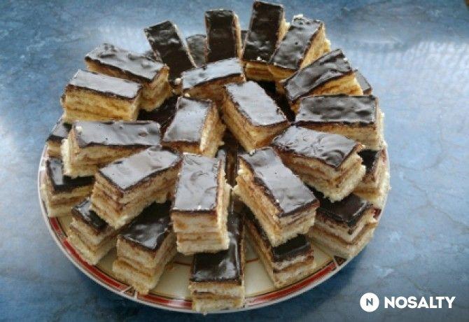 Grízes-mézes süti