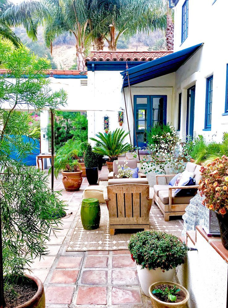 My Courtyard Noticing Beauty From A Different Perspective Spanish Style Homes Outdoor Patio Space Patio