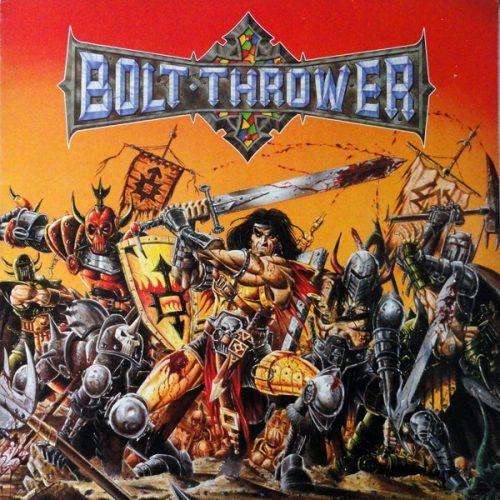 Bolt Thrower War Master Vinyl Remastered Limited Edition White Blue Splatter Lp