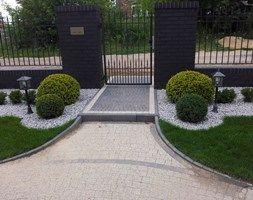CLASSIC - Ogród przed domem, styl klasyczny - zdjęcie od Paweł Bednarczyk Architektura Krajobrazu
