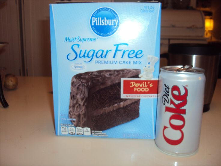 Low Calorie Recipes With Cake Mix: All You Need Is A Box Of Sugar Free Cake Mix And A 12 Oz