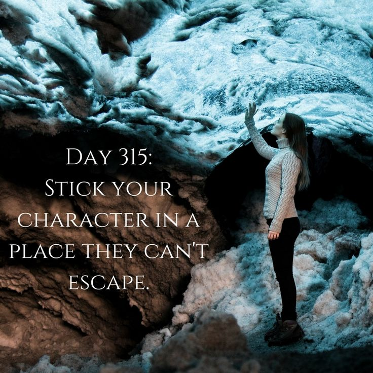 Day 315 of 365 Days of Writing Prompts: Stick your character in a place they can't escape. Erin: When I woke up in the tiny box like room I had this gut feeling the worst year of my life was …