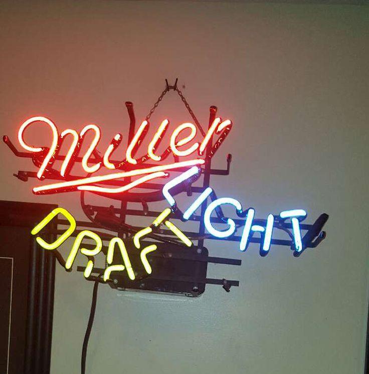 Miller Draft Light Neon Sign Real Neon Light Z1299