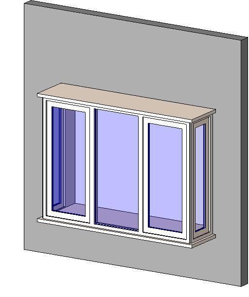 RevitCity.com | Object | Box Bay Window | home improvement | Pinterest |  Window, Bay windows and Exterior