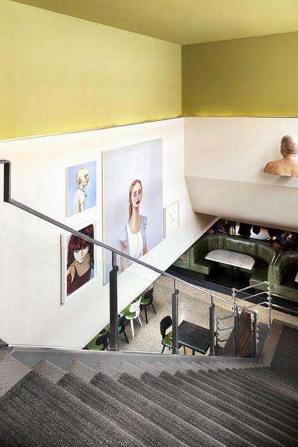 The Drake Hotel Sky Yard Staircase | Lisa Petrole (http://www.lisapetrole.com/)