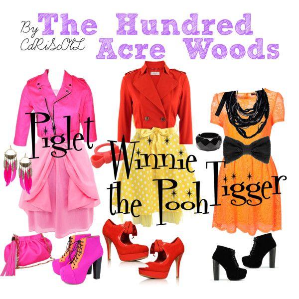 @PJ Scofield I could dress like Winnie the Pooh!!!!