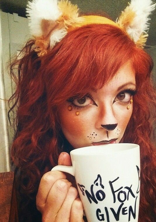 Halloween Fox Costume Makeup #fox #nofoxgiven