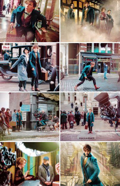 Fantastic Beasts New Stills!
