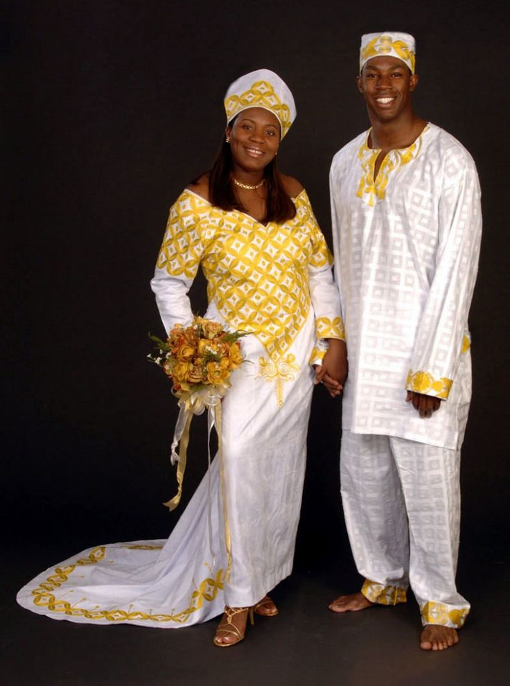Best African Wedding Dresses Images On Pinterest African