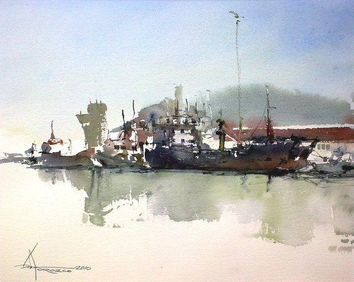 Pedro Orozco Tristán #watercolor jd