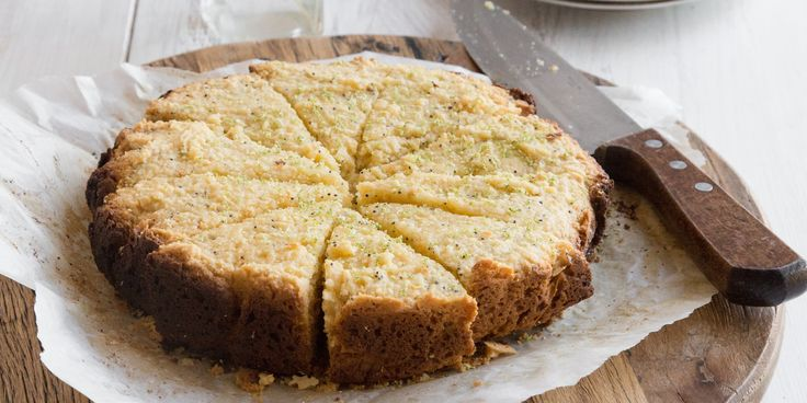 Lime, Coconut   Poppy Seed Cake via @iquitsugar