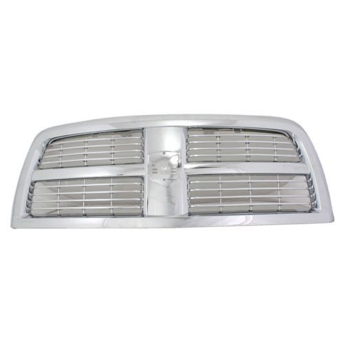 2010-2012 Dodge Ram 2500 Pickup Truck Grille Chrome