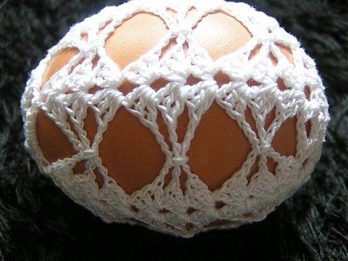 Gabriela.art / Háčkované vajce 18