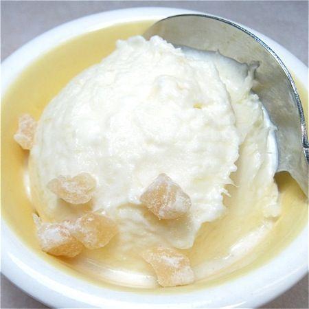 pineapple-coconut gelato