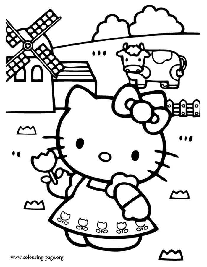 farm coloring pages kids - photo#43
