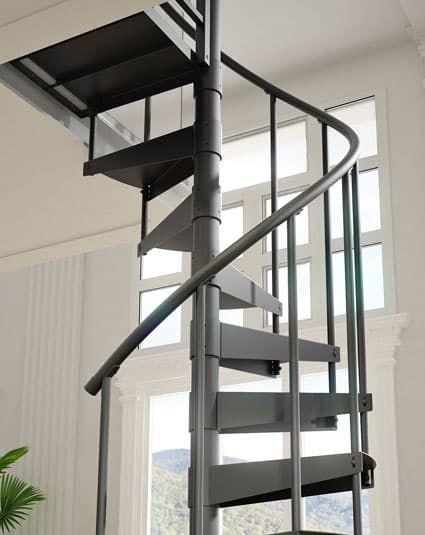 Best Economy Spiral Staircase Spiral Stair In 2020 Spiral 400 x 300