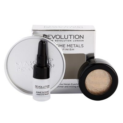 Makeup Revolution Awesome Metals oční stíny 1