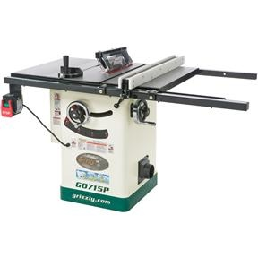 "G0715P 10"" Hybrid Table Saw with Riving Knife, Polar Bear Series®"