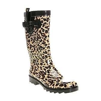 21 best Cheetah Print Rain Boots images on Pinterest