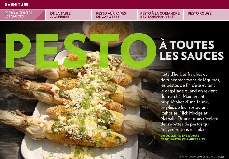 Pesto à toutes les sauces - La Presse+
