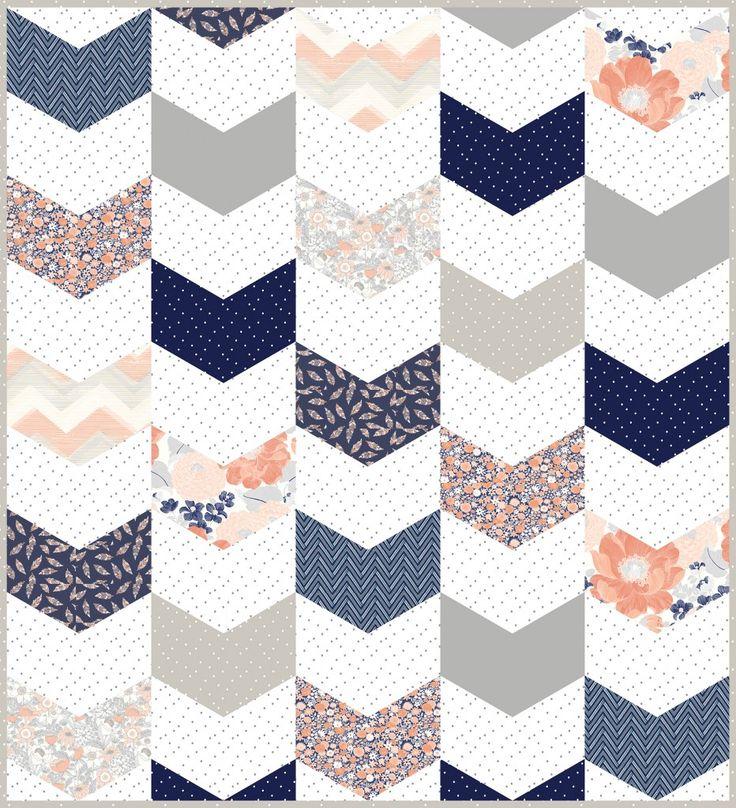 Chevron Design: 25+ Best Ideas About Chevron Quilt Pattern On Pinterest