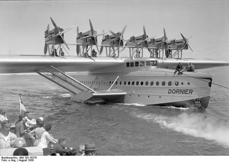 Le Dornier Do X, plus grand hydravion jamais construit
