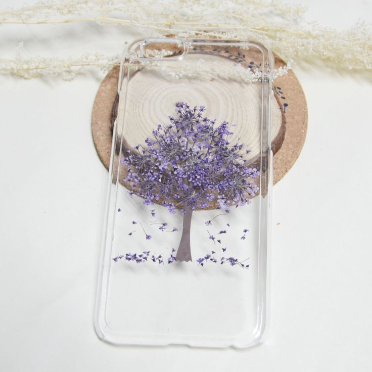 iphone 7 presed flower phone case clear, floral iphone 7 case,purple floral iphone 6s case rubber, samsung galaxycase, samsung note 7 case by FancyPocketvivi on Etsy https://www.etsy.com/au/listing/461457528/iphone-7-presed-flower-phone-case-clear