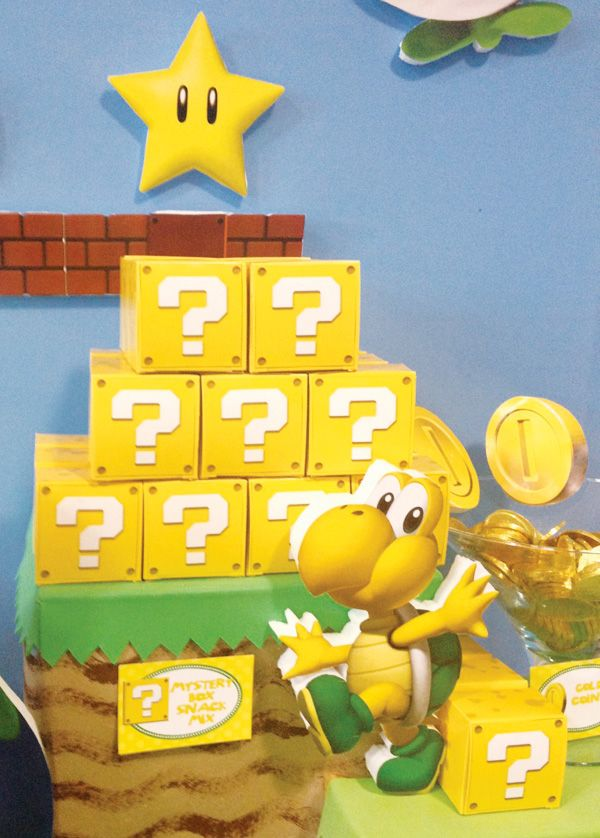 Clever Super Mario Brothers Party Ideas