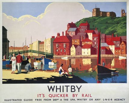 A rail bargain from a bygone era: Historic posters depicting the delights of…
